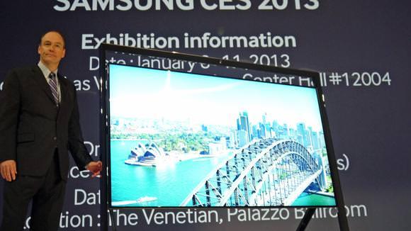 Samsung на выставке CES 2013