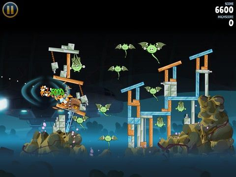 Star Wars Angry Birds: Ecsape from Hoth