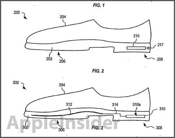 Apple получила патент на умную обувь