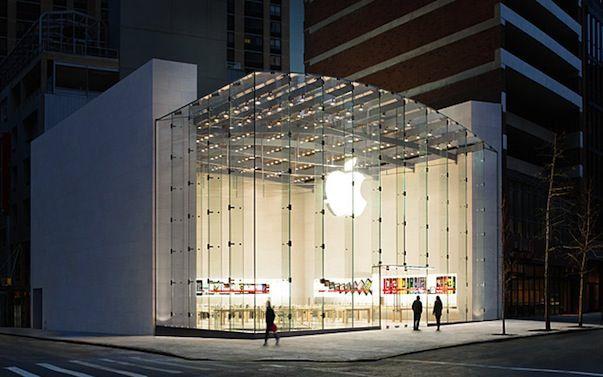 Apple запатентовала дизайн своих магазинов Apple Store