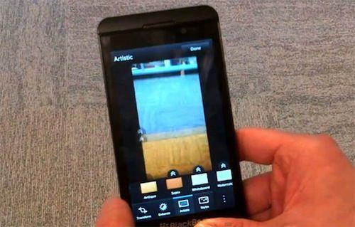 Blackberry 10: краткий обзор приложения Камера