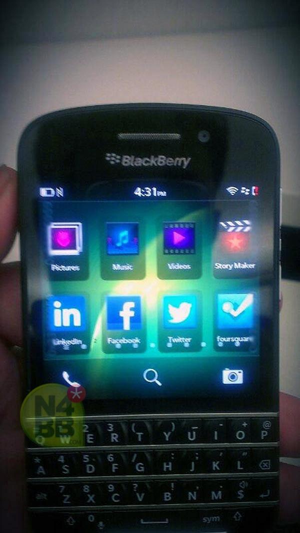Новый фотографии BlackBerry X10