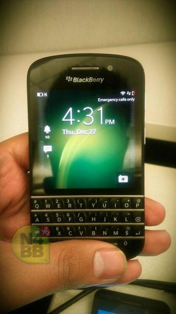 Новый смартфон BlackBerry X10