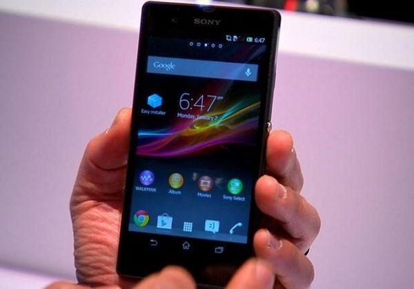 Дизайн Sony Xperia Z