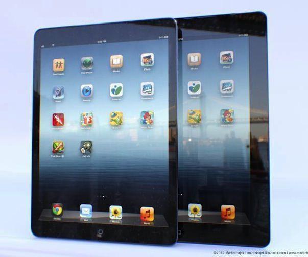 Концепт iPad 5 от Мартина Хаека