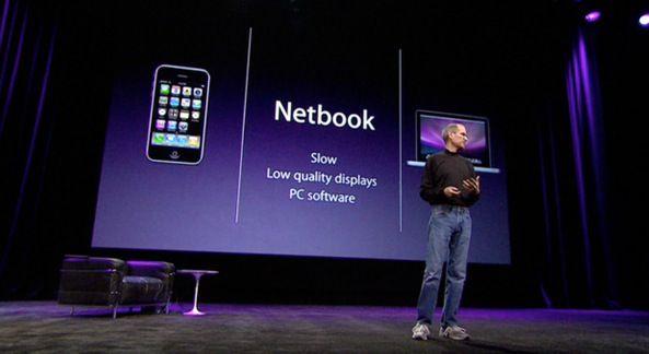 Стив Джобс о нетбуках