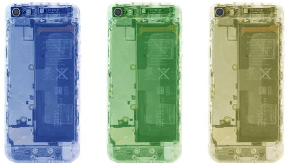 Как сделать корпус iPhone 5 прозрачным с помощью Translucent mod kit от iPhone5mod
