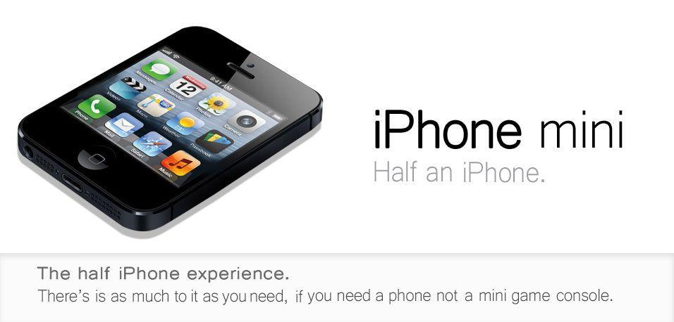 Iphone mini nano