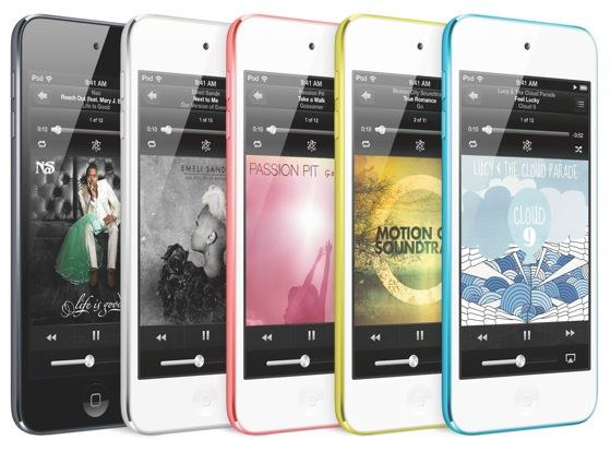 Новые iPod touch