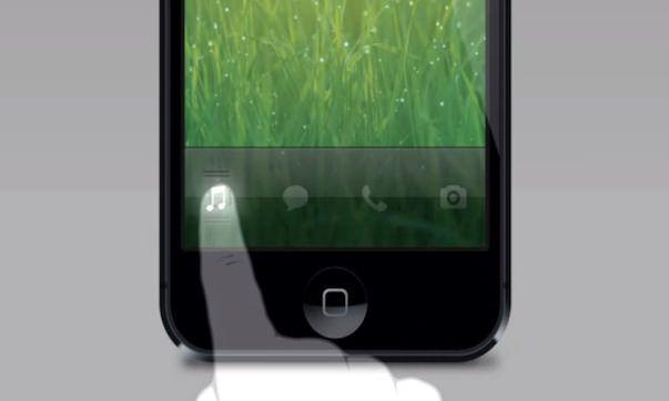Концепт твика из Cydia, который добавит кнопки быстрого доступа к приложениям на экране блокировки в iOS