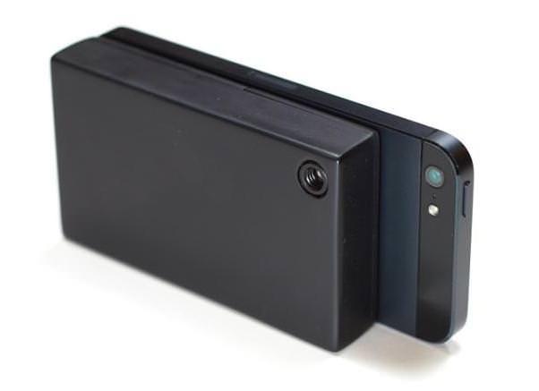 С помощью IR-Blue iPhone легко превращается в тепловизионную камеру