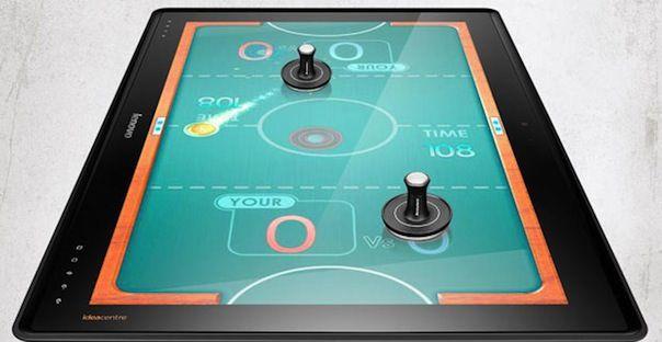Представлен 27-дюймовый планшет Lenovo IdeaCentre Horizon Table PC