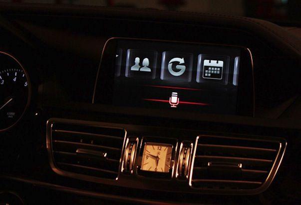 Mercedes-Benz E - будет оснащен голосовым помощником Siri