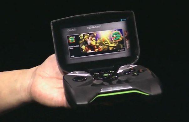 Nvidia Project Shield - мобильная приставка на платформе Android