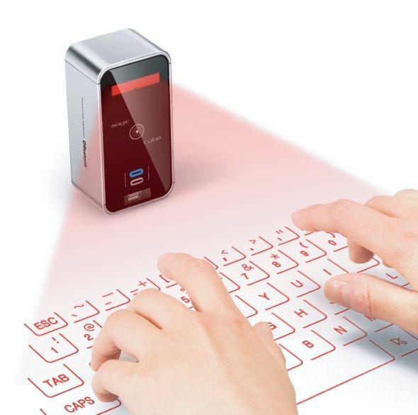 Magic Cube – визуальная лазерная клавиатура для iPhone и iPad
