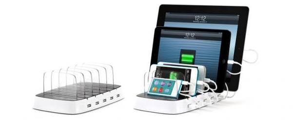 Griffin PowerDock 5 - док-станция для зарядки пяти iOS устройств одновременно