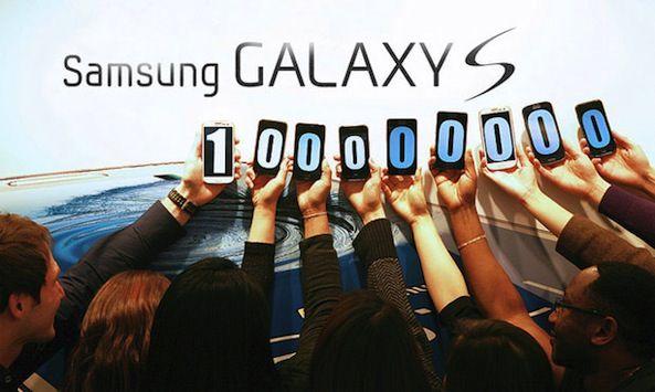 Продажи смартфонов Samsung