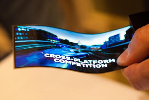 На CES 2013 Samsung показала гибкий дисплей Youm