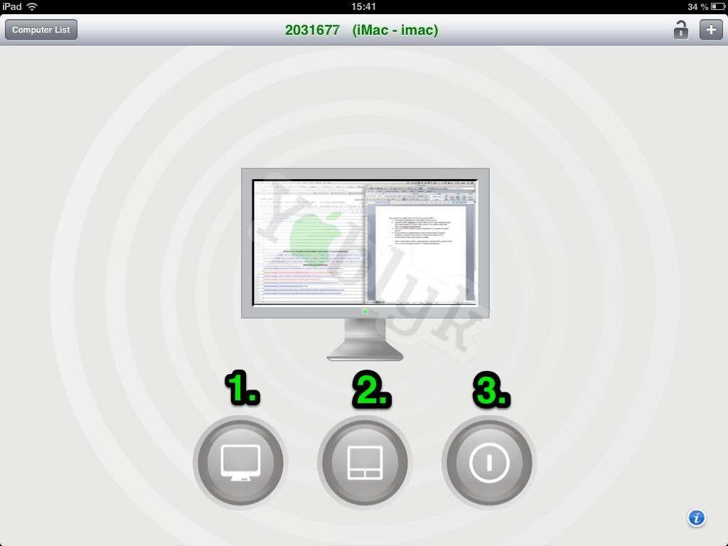 Удаленное управление компьютером при помощи iPad и RDM+ HD