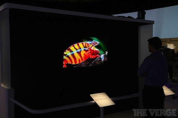 Новый OLED телевизор Sony с разрешением 4К сломался прямо на презентации
