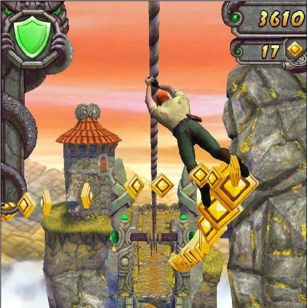 "Скриншот из игры ""Temple Run 2"""