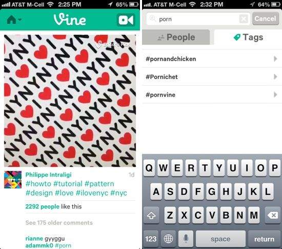 приложение Vine