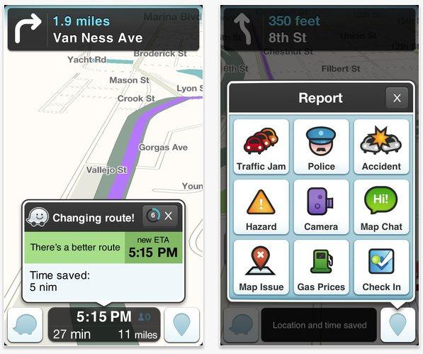 Apple собирается купить картографический сервис Waze