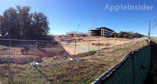 Фотографии одного из корпусов Apple Campus 2