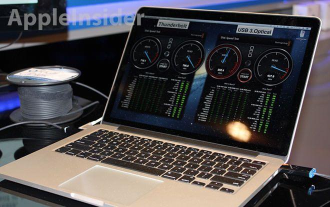 Оптический кабель Corning для Macbook