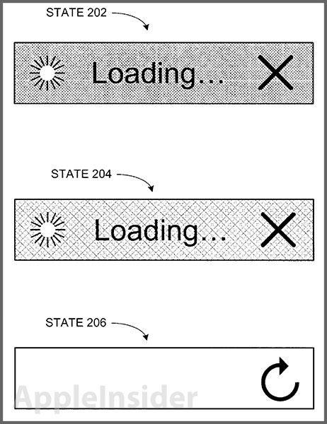 Patent-status-bar-downloads-Safari