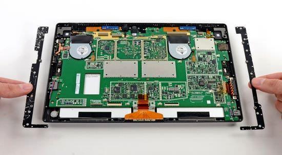 Планшет Surface Pro от Microsoft практически непригоден к ремонту