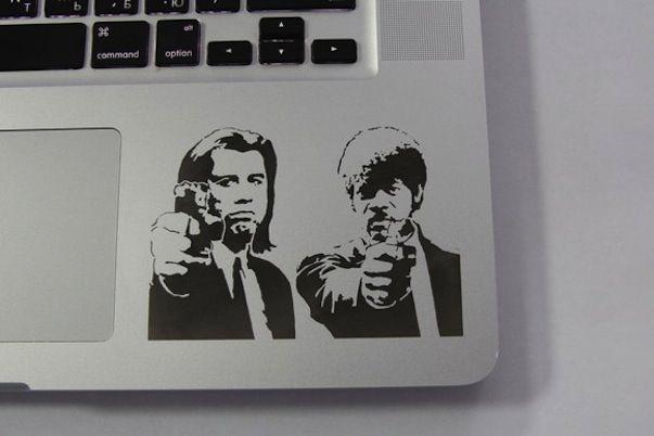 Лазерная гравировка McGraver apple macbook
