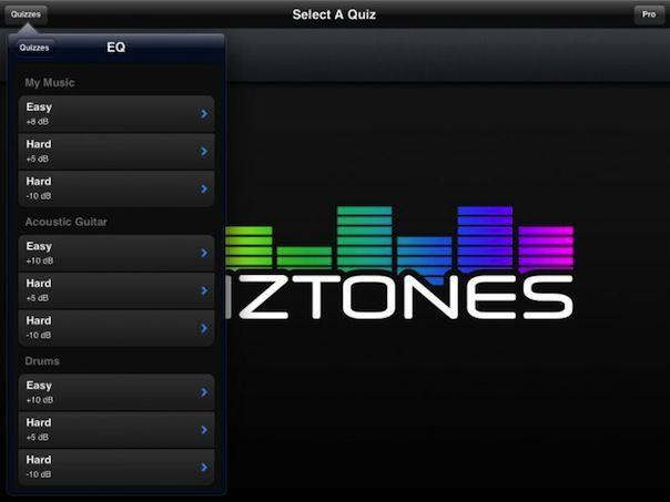 Quiztones - как проверить музыкальный слух на iPhone или iPad