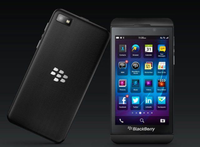 BlackBerry рассказала, чего не может ее новый смартфон Z10