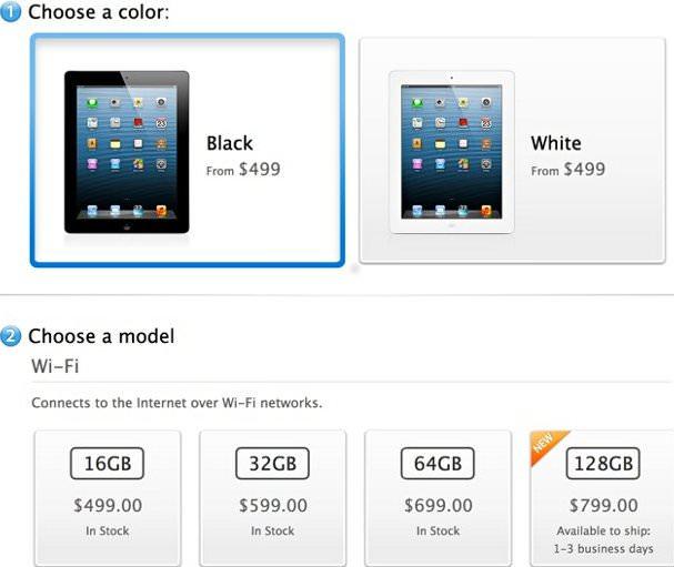 iPad 4 - 128gb