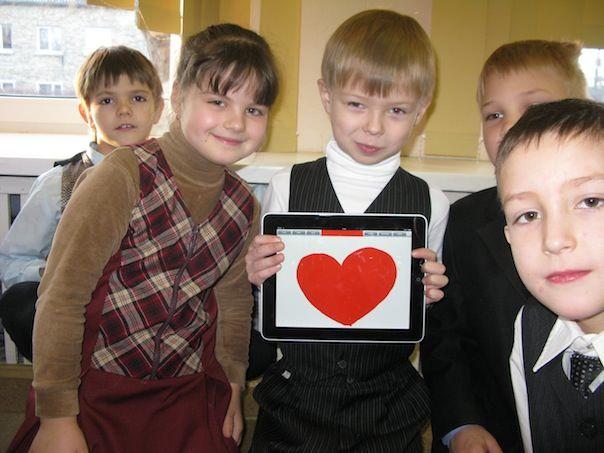 iPad в московской школе
