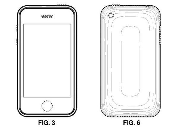 Apple получила патент на внешний вид iPhone 2G