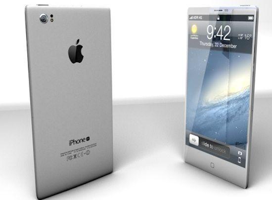 Концепт алюминивого iPhone