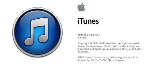 iTunes 11.0.2