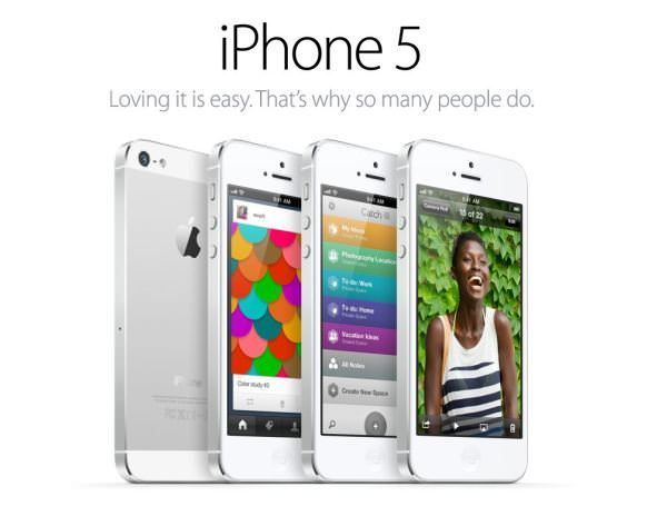 IPhone 5 official ad