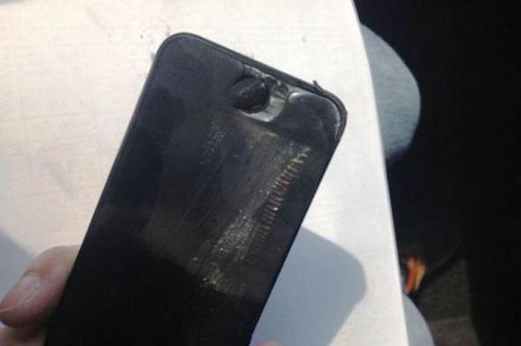 взрыв iPhone 5