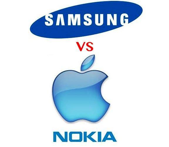 Apple и Nokia против Samsung