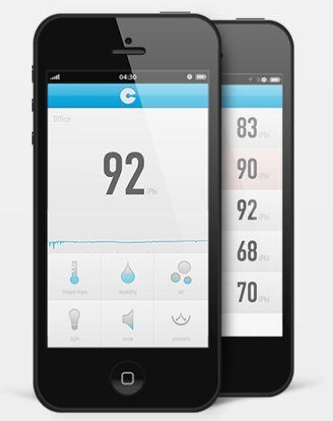 CubeSensors для iphone