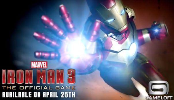 Iron Man 3 для iPhone iPad iPod Touch