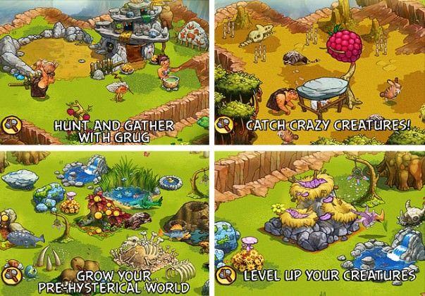 the croods игра для iphone и ipad
