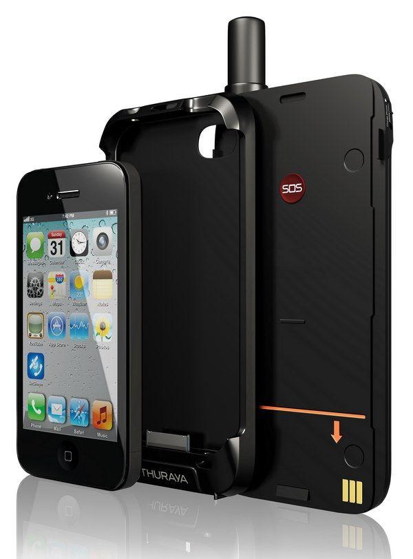 Чехол SatSleeve от Thuraya превратит iPhone в спутниковый телефон