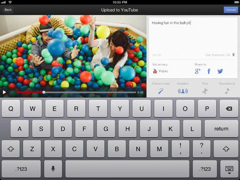 Youtube Capture iPad скриншот 1