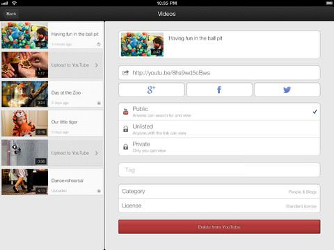 Youtube Capture iPad скриншот 3