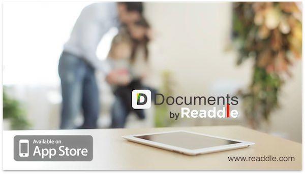 Текстовый редактор Documents by Readdle