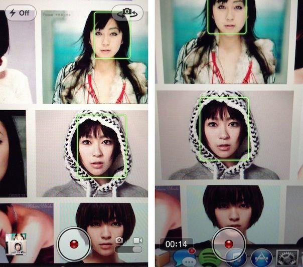 автофокус во время съемки видео на iPhone